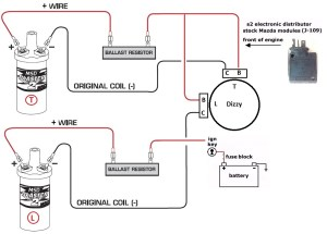 MSD Blaster 2 Coil wiring diagram needed  NoPistons