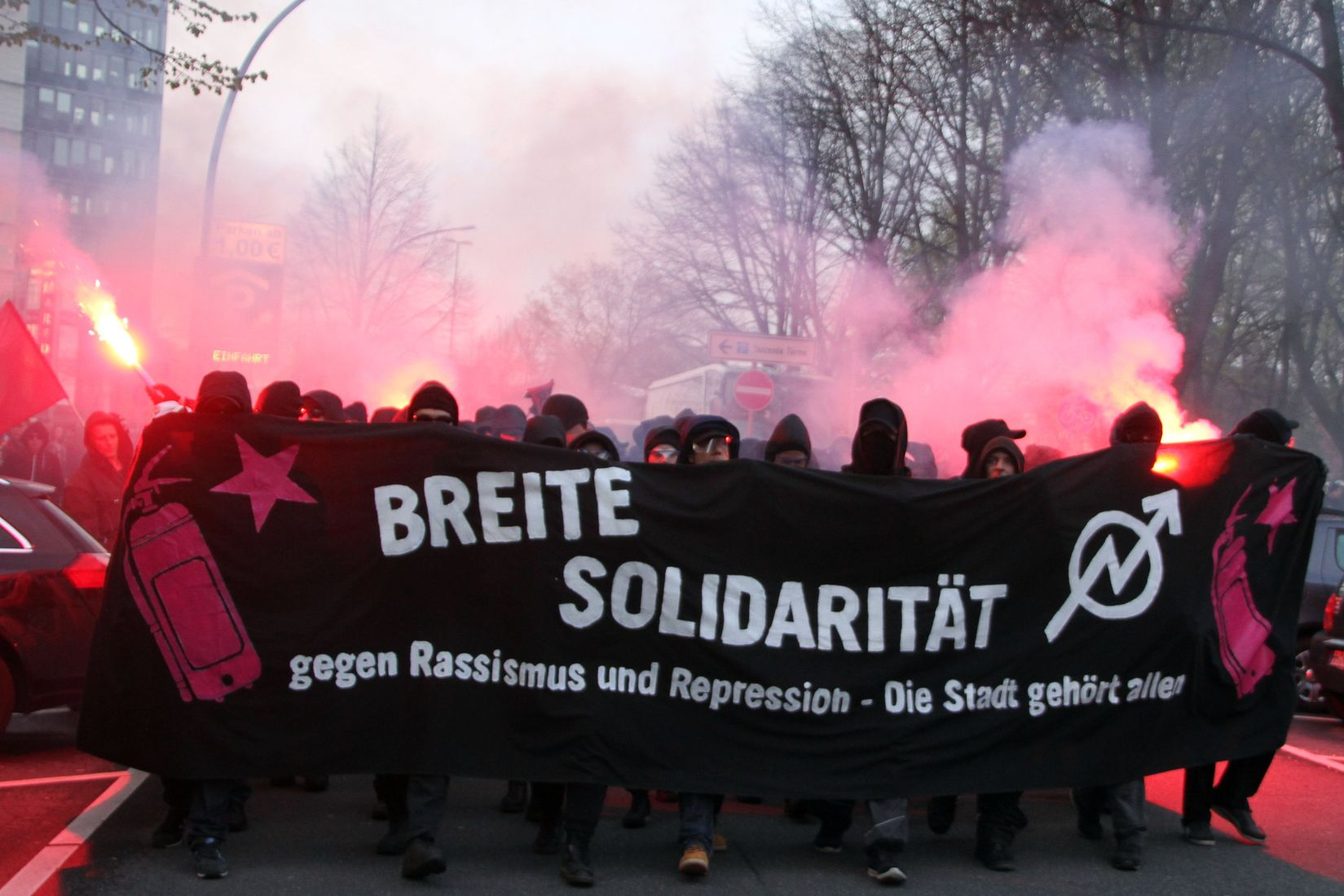 Breit Soli-Demo am 30. April 2016