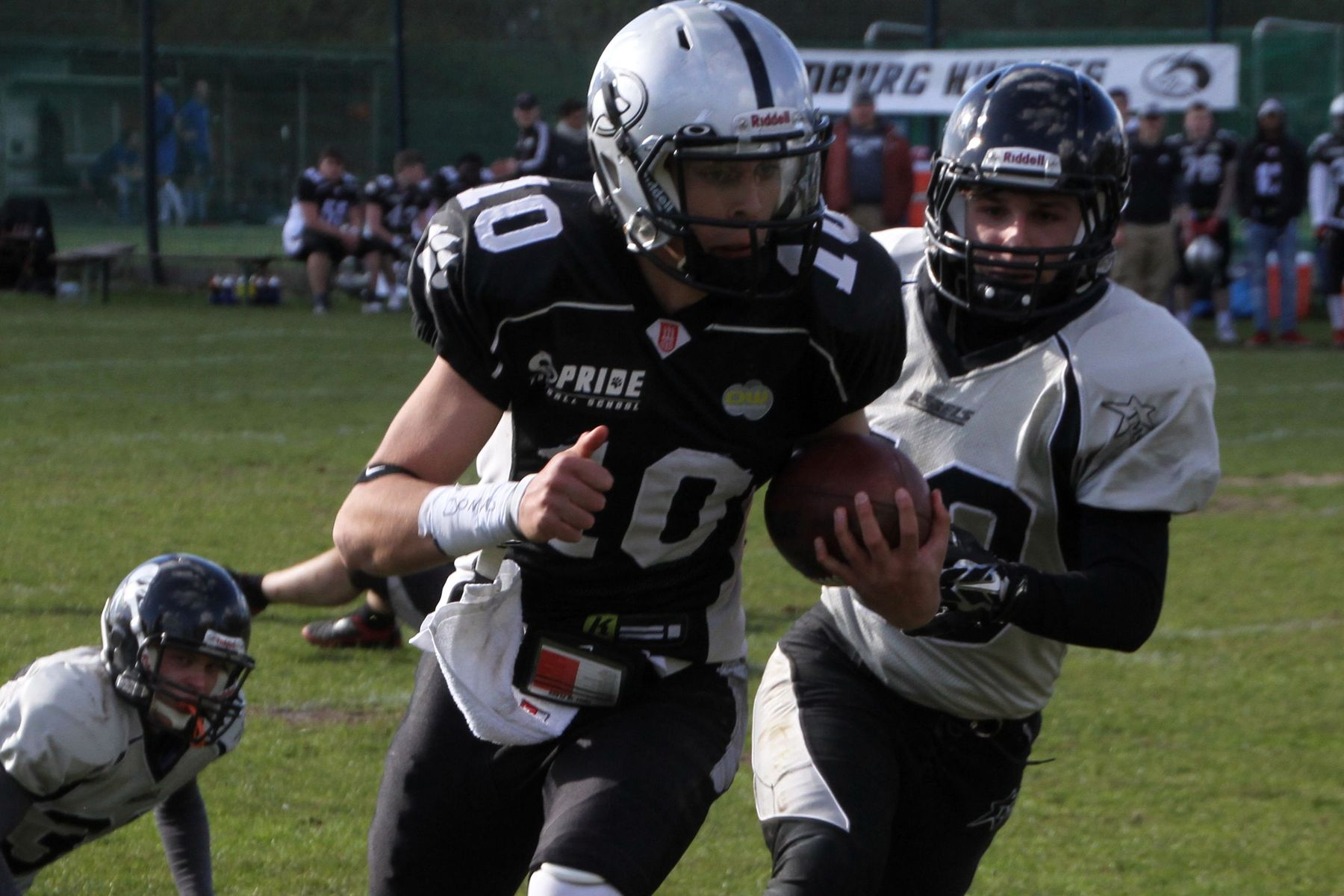 Hamburg Young Huskies vs. Berlin Rebels.