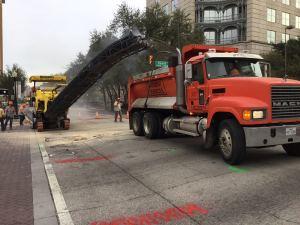 Dallas Texas Road Construction.