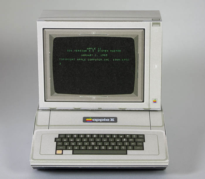 apple II de papel - Electrogeek