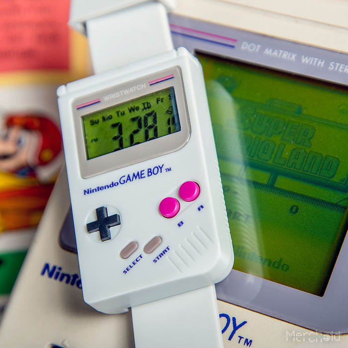 reloj game boy - Electrogeek