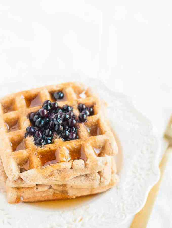 Gluten Free Plant Based Waffles