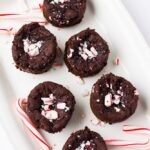 Peppermint Black Bean Brownie Bites