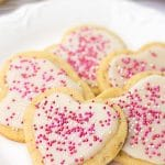 Vegan Sugar Cookies with Easy Icing