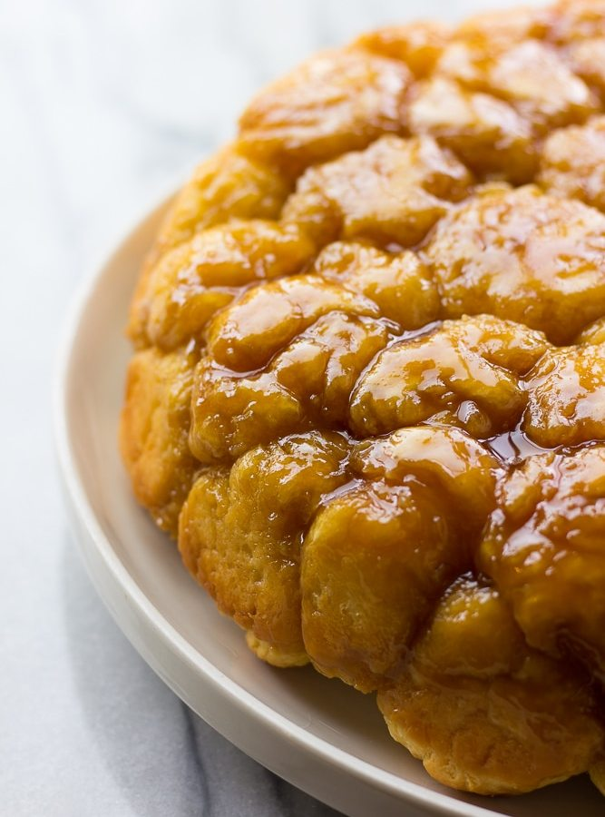 Vegan Caramel Monkey Bread
