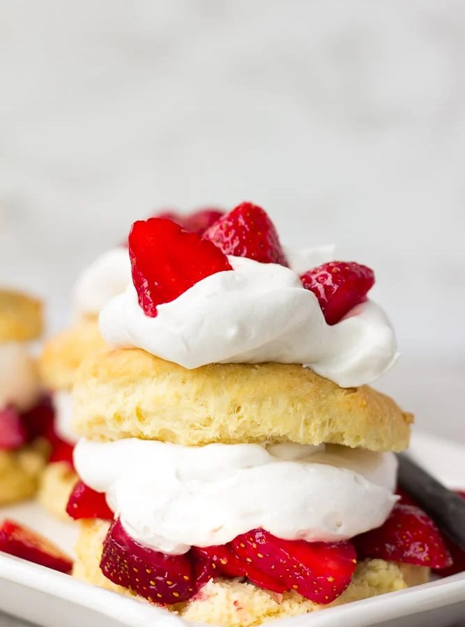 Easy Vegan Strawberry Shortcake