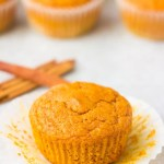 1 Bowl Vegan Pumpkin Muffins