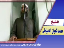 الشيخ محمد شعبان الدمياطى