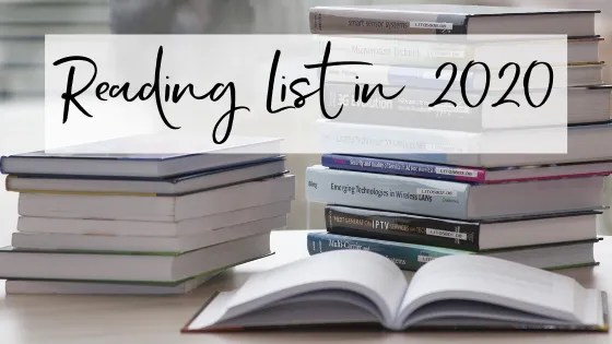 Reading List in 2020
