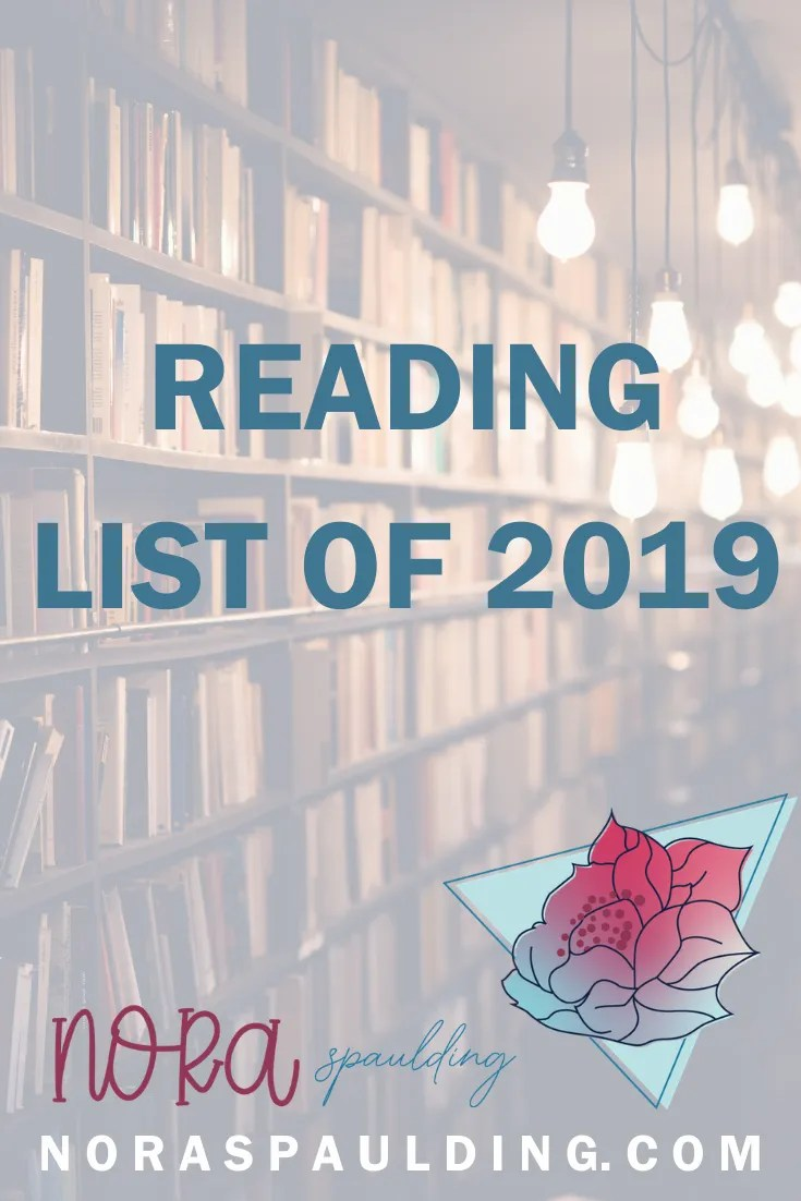 reading list for the year