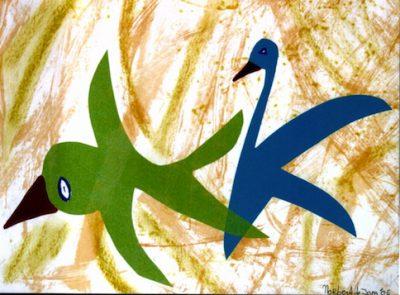 382 Dierkleuren 4 2005, 38 x 48, gemengd, 200,-