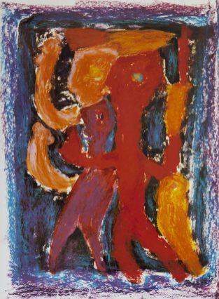 117 Swingend Feest, 1997, 63 x 73, 350,-