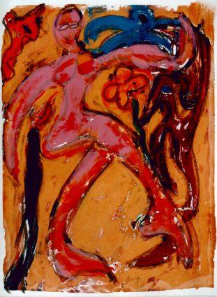 97, Dans, 1997, 68 x 83