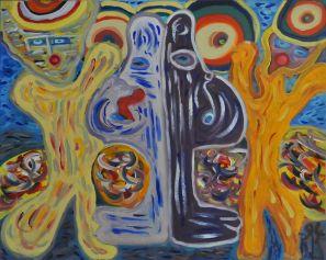 37B Dilemma, 1995 80 x 100 olieverf