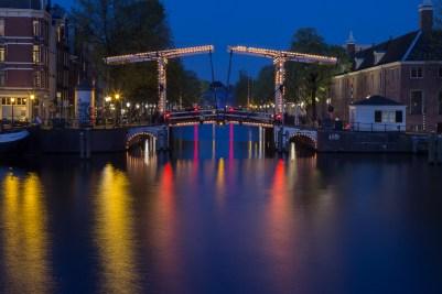 Blue hour bridge