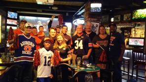 Auburn Fans at Ricky's in the East Bay