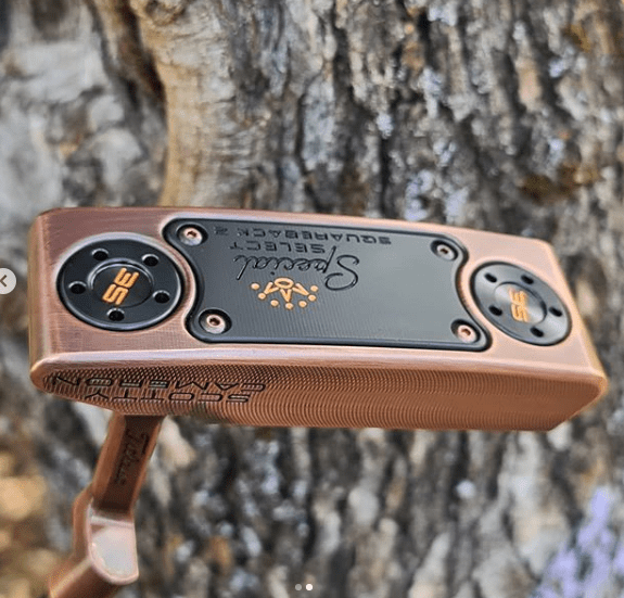 Dual Finish Aged Copper Plating/satin DLC
