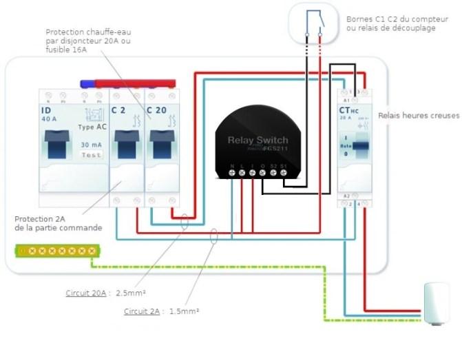 Sch%C3%A9ma-possible-2 Gestion d'un Chauffe-eau avec un relais 1 Charge Fibaro et une eedomus