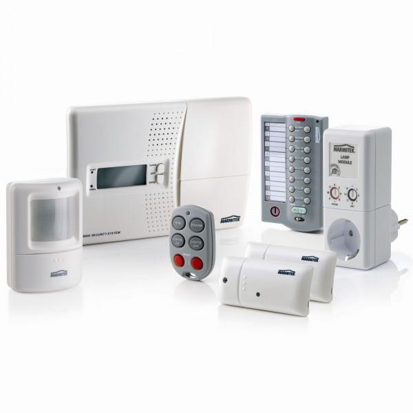 Renforcer la puissance de la domotique par un système d'alarme sans fil