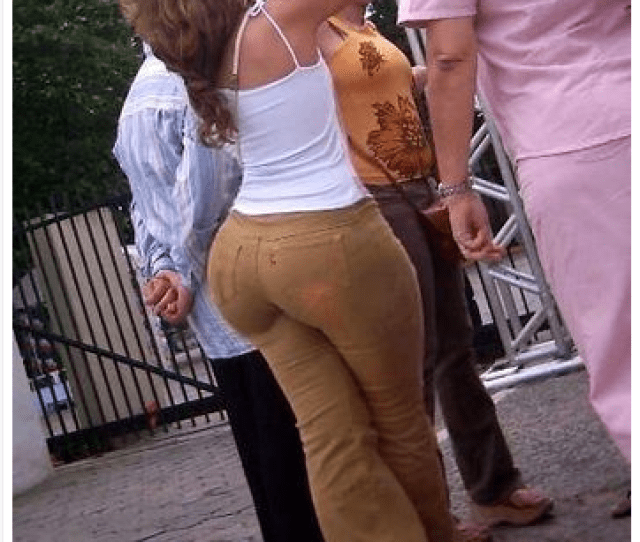 I Want To Know Where This Woman Found Tight Pants With A Small Waist Or If She Got Them Tailored Or If That Strategic Blur Says This Is Photoshopped Or