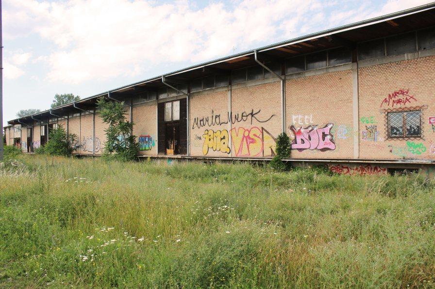 Nordbahnhalle Seitlich