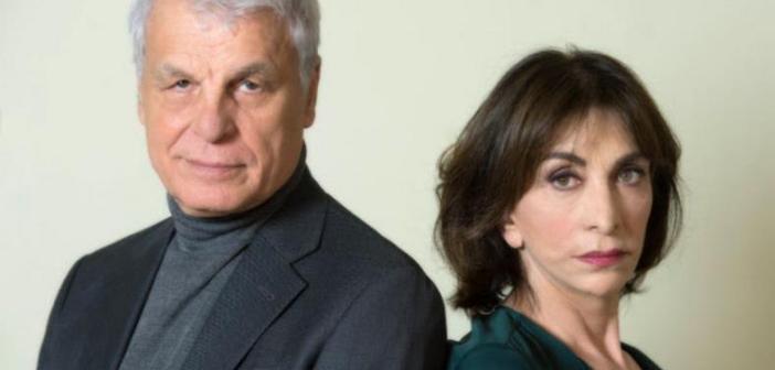 MICHELE PLACIDO E ANNA BONAIUTO in PICCOLI CRIMINI CONIUGALI