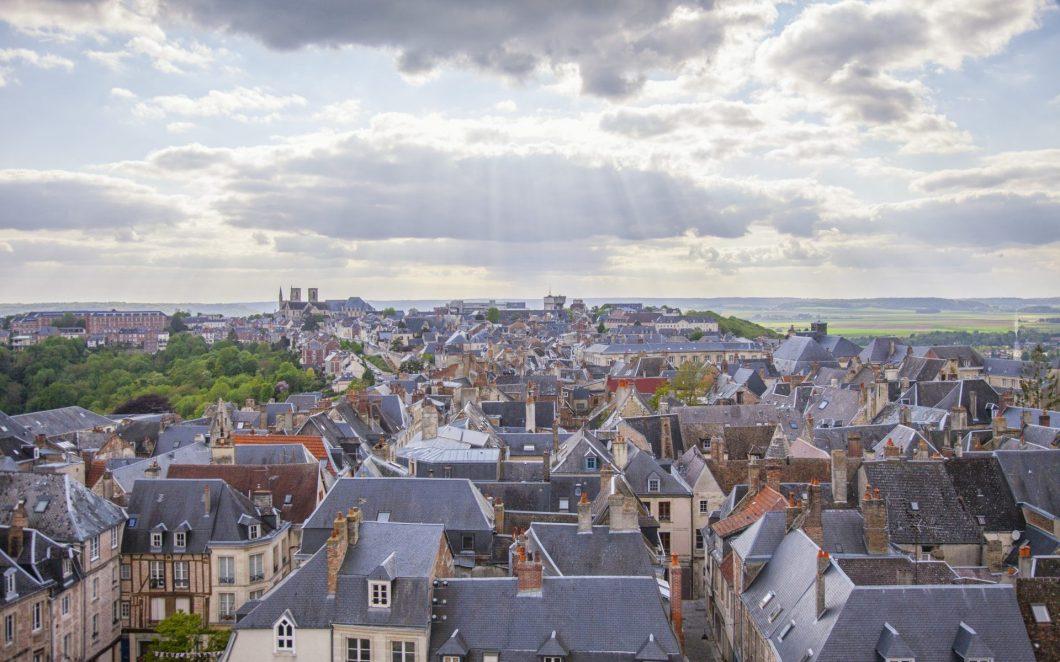Mittelalter in Nordfrankreich: Die Kathedrale von Laon