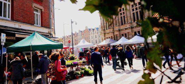Markt in Arras, © Charles Dubus