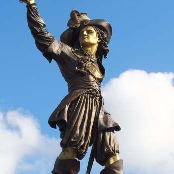 Statue von Jean Bart, © R. Dehondt
