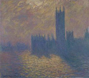 Claude Monet, Le Parlement de Londres © Palais des Beaux-Arts de Lille
