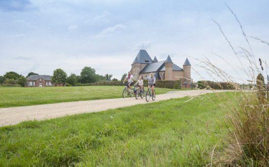 Entlang der Stevenson-Tour in Flavigny, © B. Teissedre