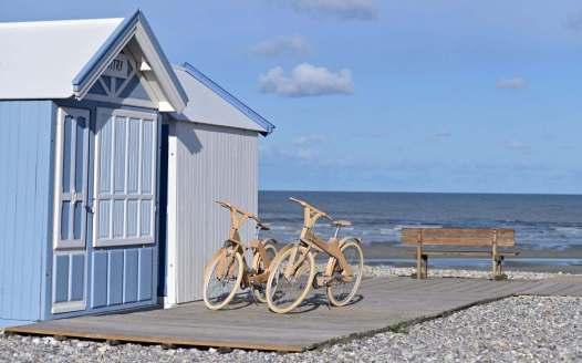 "Strandpromenade am Hotel ""Hidden Bay"" in Cayeux-sur-Mer, © Nicolas Bryant"