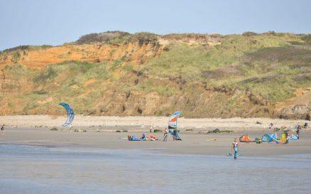 Kiten in Ambleteuse an der Opalküste, © Nicolas Bryant