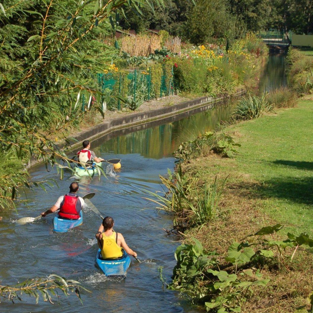 Paddeln durch die Kanalgärten von Amiens, © Amiens Somme Tourisme