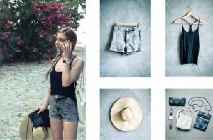 Second hand summer clothes