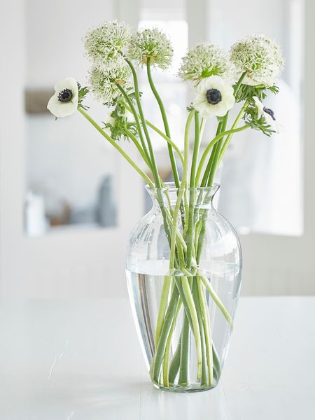 Recycled Glass Vase Large Glass Vase Nordic House