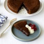 Kladdkkaka - Sticky Chocolate Cake