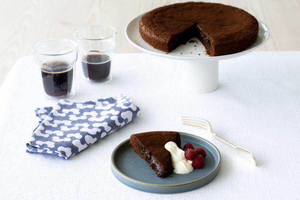 Kladdkaka - Sticky Chocolate Cake