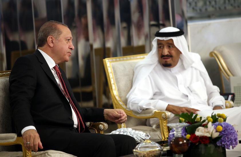 Saudi Arabia undermines Turkey's exports to Arab countries by leading boycott of Turkish goods