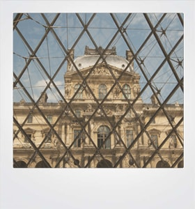 Card Louvre Paris #10001