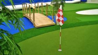 Planmeca Golf Areena /puttigreenit3