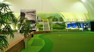 Planmeca Golf Areena /puttigreenit2