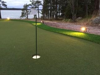 Villa Upinniemi golfgreen2