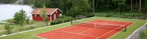 nordicturf tekonurmimatto tenniskentällä
