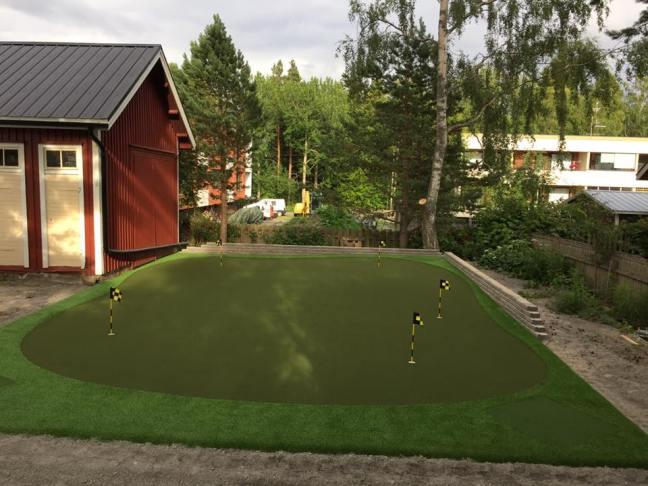 Lyöntimatot integroitu golfviheriöön