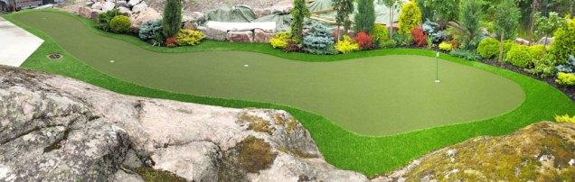 Golf greeni kotiin