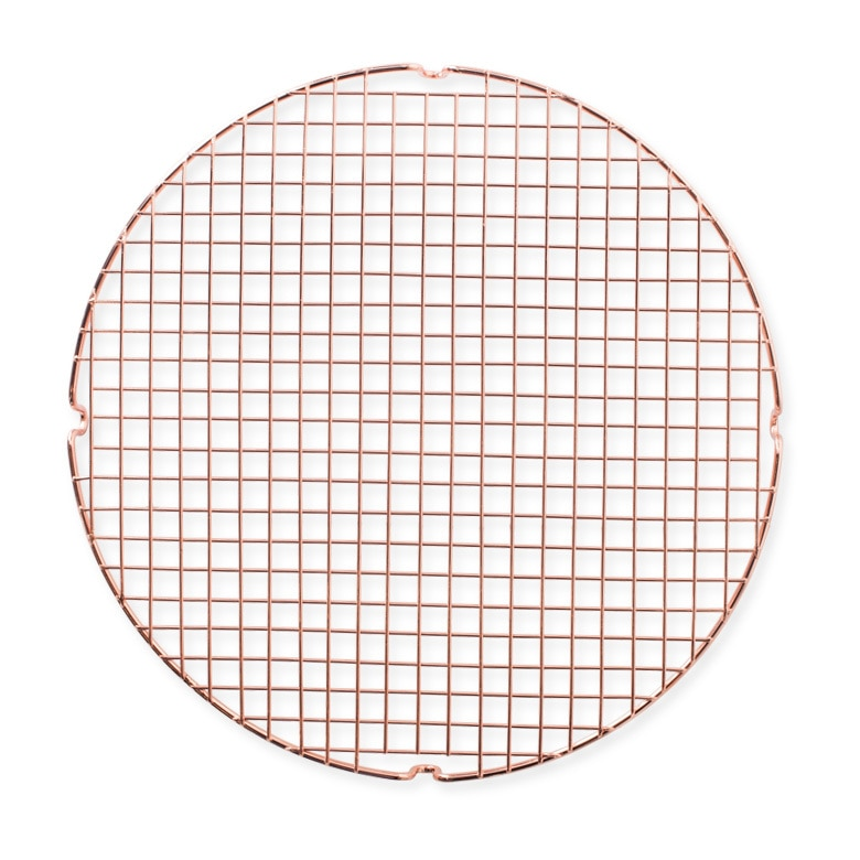 round copper cooling serving grid