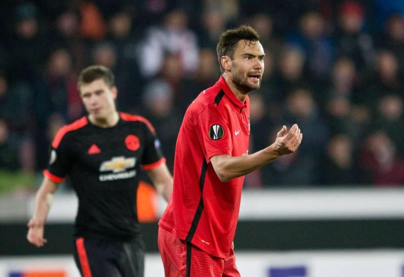 18-02-2016: Voetbal: FC Midtjylland v Manchester United: Herning Denemarken Netherlands only Tim Sparv