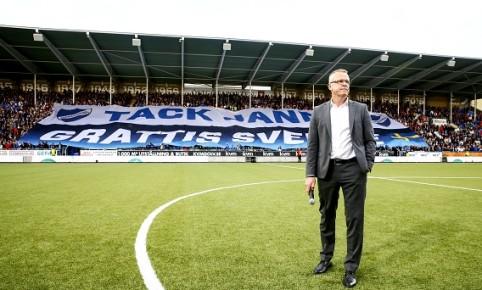 160529 Norrkšpings manager Janne Andersson efter fotbollsmatchen i Allsvenskan mellan Norrkšping och Elfsborg den 29 maj 2016 i Norrkšping. Foto: Peter Holgersson / BILDBYRN / Cop 102